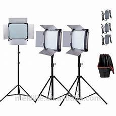 Film Light Stands Video Lighting Kit Professional With Led Camera Light
