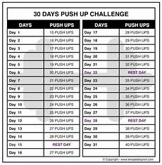 Push Up Chart For Beginners Perfect Pushup Workout Chart 21 Day Workoutwaper Co