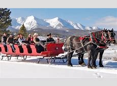 Dinner or Scenic Sleigh Ride   Breckenridge Stables   Groupon