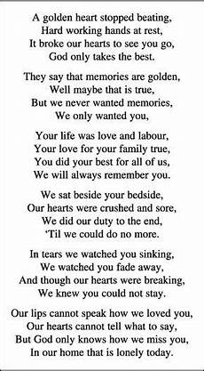 Funeral Speech For Grandpa Memorial Card Quotes For Funerals Funeral Quotes Dad
