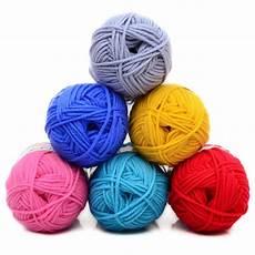 knitting yarn 5pcs lot soft thick milk cotton knitting yarn baby