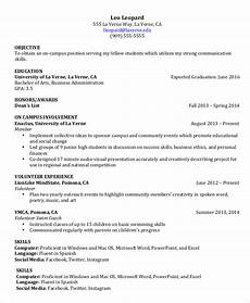Examples Of College Resume College Student Resume 8 Free Word Pdf Documents