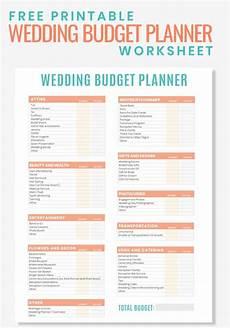 Wedding Planning Printables Free Printable Wedding Budget Planner Worksheet