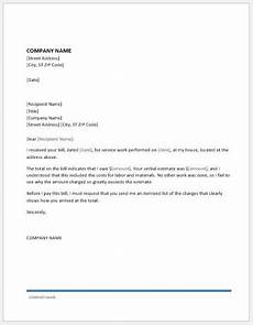 How To Write A Bill For Services Rendered Request Letter For Itemized Charges Word Document Templates