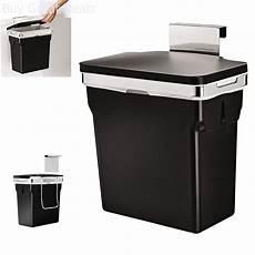 cabinet door trash can wastebasket hanging heavy duty