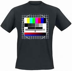 T Shirt Malvorlagen Kostenlos Quiz Tv Test Pattern T Shirt Manches Courtes Emp