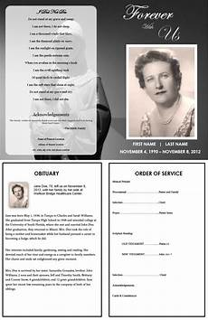 How To Make A Funeral Program The Funeral Memorial Program Blog Create A Free Funeral