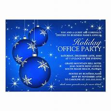 Annual Holiday Party Invitation Template Corporate Holiday Party Invitation Template Zazzle Com