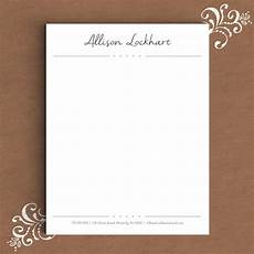 Word Stationery Templates Free Free Personal Letterhead Templates Word Free Printable