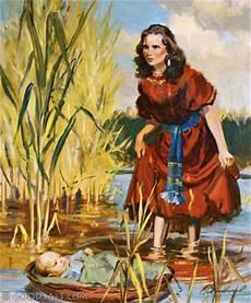 Exodus 2 Miriam Watching Baby Moses