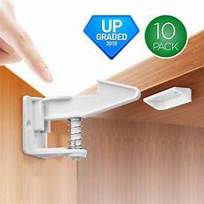 10pcs child safety cabinet locks baby proofing cabinets