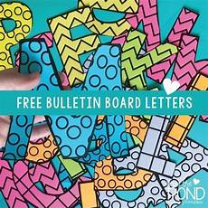 Letters For Bulletin Boards Templates Free Printable Bulletin Board Letters Bulletin Board Letters