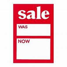 Sales Ticket Sale Ticket Label Red Amp White Was Now Sale Ticket X 500