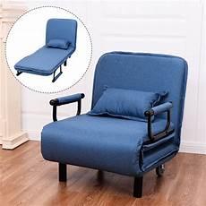 giantex convertible sofa bed modern folding arm chair