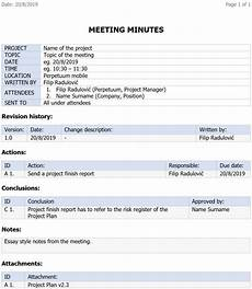 Meeting Minute The Importance Of Meeting Minutes In Project Management