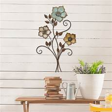 home decor wall tricolor flower wall d 233 cor stratton home decor