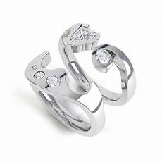 Interlocking Ring Interlocking Diamond Rings Getting A Perfect Fit By Cad