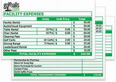 Tournament Spreadsheet Template Golf Tournament Budget Template Free Excel Sheet Download