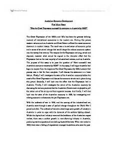 Essay About Great Depression Was The Great Depression Successfully Overcome In