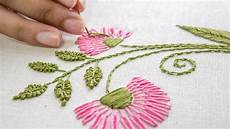 Embroidery Designs Embroidery Flower Designs Hand Stitching Ideas By
