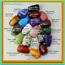 Stone Meanings Chart Stones Meanings Chart Do It Daily