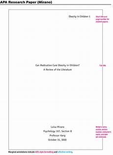 Apa Sample Document Flatget Blog