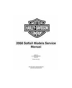 2008 Harley Davidson Softail Models Service And Electrical