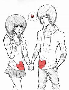 Jungs Malvorlagen Romantik Anime Drawing At Getdrawings Free