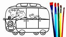 peppa wutz familie zum ausmalen malvorlagen