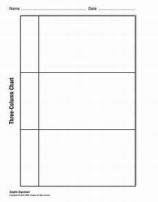 Three Column Chart 30 Printable T Chart Templates Amp Examples Template Archive