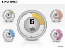 Digital Timer Powerpoint 0314 Business Ppt Diagram Set Of Timers Powerpoint