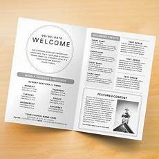 Bulletin Template Free 30 Free Printable Church Bulletin Templates In 2020 With