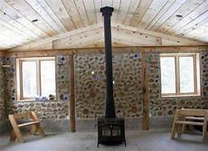 home wall design interior mortgage free cordwood eco homes green building ideas