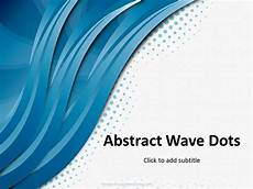 Waves Powerpoint Free Three Way Waves Powerpoint Template