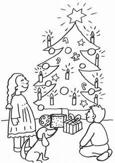 Ausmalbild Weihnachtsbaum Mit Geschenken Kostenlose Malvorlage Weihnachten Kostenlose Malvorlage