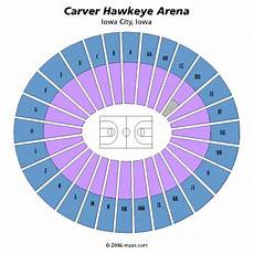 Iowa Basketball Seating Chart Carver Hawkeye Arena Iowa City Tickets Schedule
