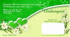 contoh undangan pernikahan yg cantik contoh isi undangan