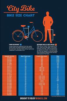 Bike Size Chart By Height Bike Size Chart 2020 The Ultimate Guide With