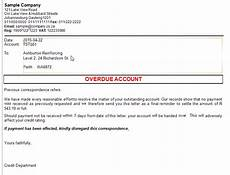 Credit Control Letter Credit Control Amp Sms Palladium Software