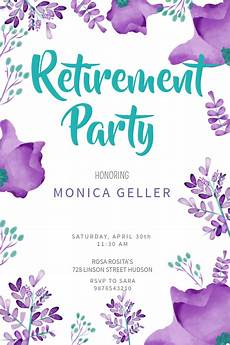 Retirement Party Flyers Retirement Poster Templates Postermywall
