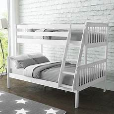 oxford bunk bed in white small