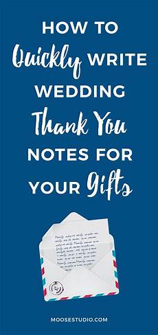Thank You Note For A Thank You Gift How To Quickly Conquer The Wording For Wedding Thank You Notes