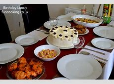 How to arrange a birthday lunch  Funcooking