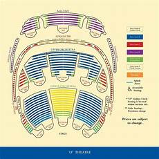 Paranormal Cirque Seating Chart Bellagio Cirque Du Soleil O Seating Chart Fusion Grain
