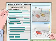 Red Light Ticket Settlement How To Fight A Red Light Ticket In California With Pictures
