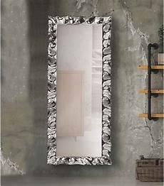 cornici x specchi specchio modero 170x70 con cornice argento in vetro