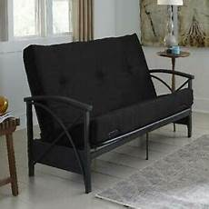Futon Sofa Bed Frame 3d Image by Futon Sofa Mattress Only 6 Quot Size Bed Tuft Black