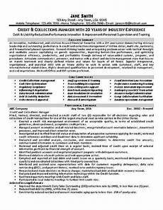Collection Manager Resume Collections Credit Manager Resume Examples Manager