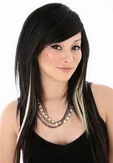 20 original black hair with and caramel highlights