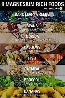 Magnesium In Foods Chart 6 Signs You Re Not Getting Enough Magnesium And How To Fix It